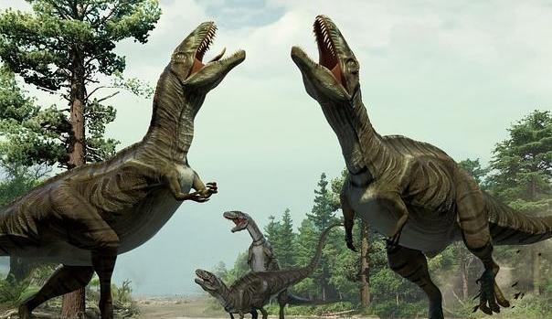 El dinosaurio más desafortunado del mundo murió atrapado en el barro