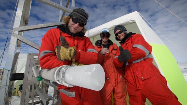 Algunos miembros de la expedición