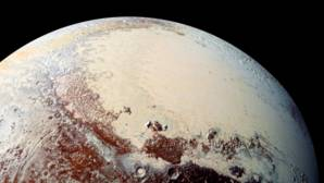 El corazón de Plutón esconde un océano de escarcha