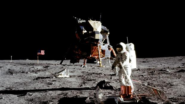 El 20 de julio de 1969 Estados Unidos llevó a los primeros humanos a pisar la Luna