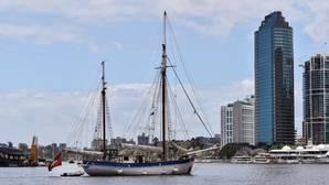 Fotografía facilitada por la Foundation Pacifique-The Ocean Mapping Expedition del velero suizo «Fleur de Passion» en la ciudad de Brisbane