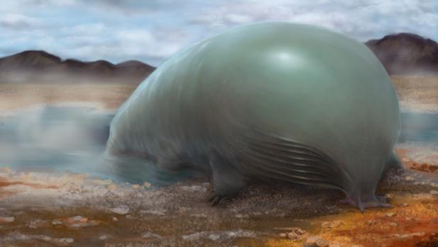 Representación de una forma de vida basada en el silicio y no en el carbono. Estos dos elementos son muy similares químicamente, pero la vida no está hecha del primero pero sí del segundo