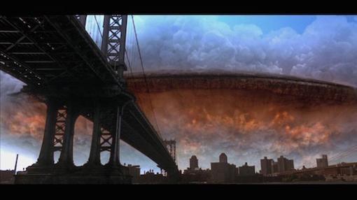 Fotograma de «Independence Day»: El desfase tecnológico entre civilizaciones interestelares y humanos podría ser una amenaza