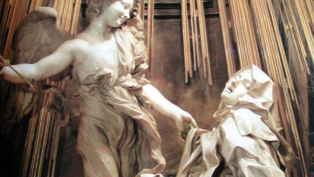 El éxtasis de Santa Teresa, escultura de Bernini