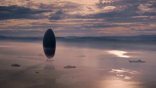 Un fotograma de «La llegada», una película de ciencia ficción en la que se aborda el problema de la comunicación con alienígenas
