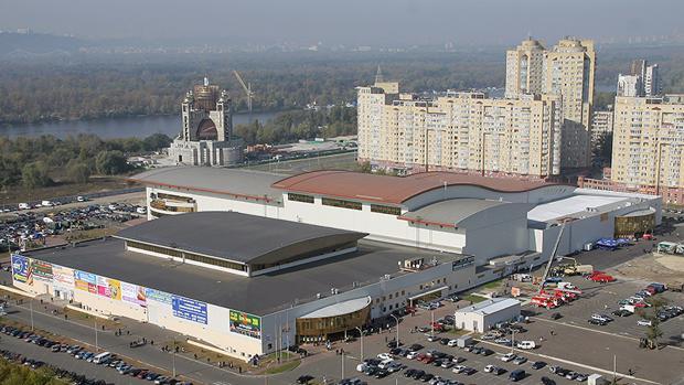 El Centro Internacional de Exposiciones de Kiev, sede del próximo festival de Eurovisión