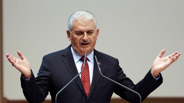 El primer ministro de Turquía, Binali Yildirim
