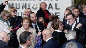El funeral de Barberá evidencia la tensión en el seno del PP
