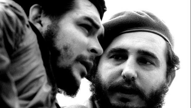 Castro y el Che Guevara
