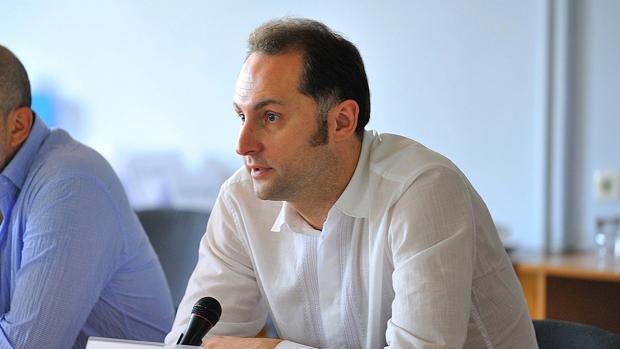 Alexander Harebin, director interino de la televisión pública ucraniana