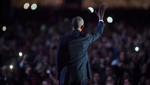 El triste adiós de Obama