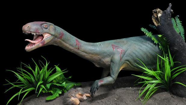 Este pariente lejano de dinosaurios tenía el aspecto de una gran lagartija, y no el de un dinosaurio en miniatura