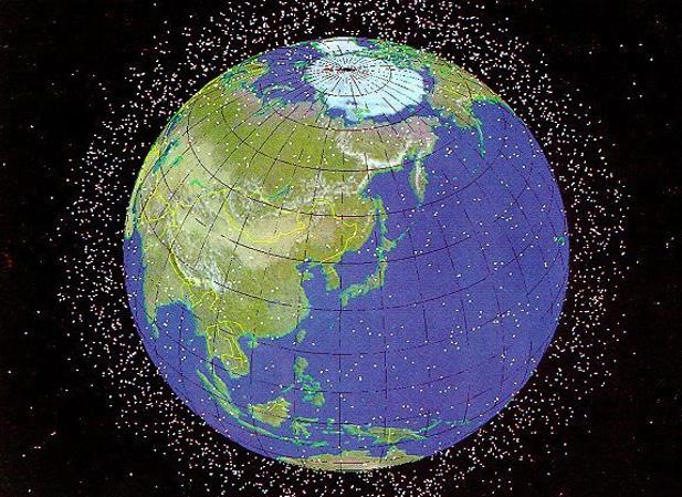 En la órbita próxima a la Tierra hay unos 750.000 objetos de entre uno y 10 centímetros de diámetro