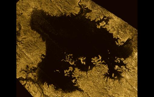 Lago Ligeia Mare, en Titán