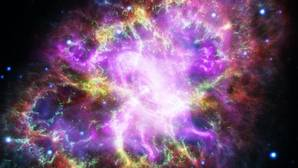 Nebulosa del Cangrejo. El misterio de la energía oscura ocurre en parte porque la Relatividad solo explica el Universo a gran escala