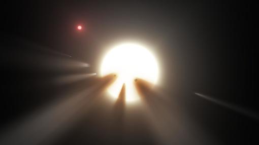 Una nube de cometas, otra de las hipótesis sobre la extraña estrella