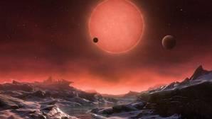Ilustración de uno de los siete mundos de TRAPPIST-1, anunciados por la NASA el pasado Febrero