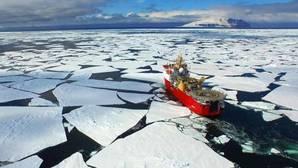 Un área protegida en el Mar de Ross, en el océano Antártico