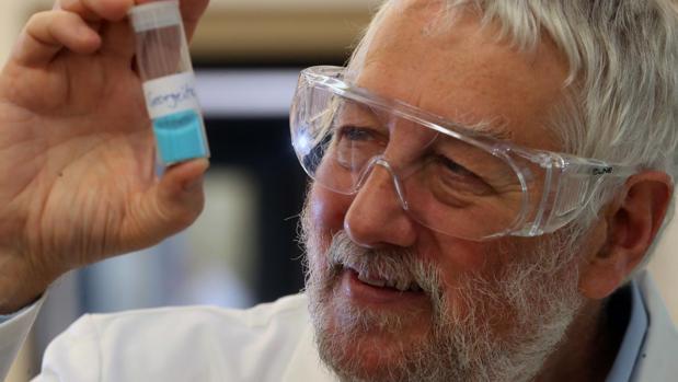 El científico Graham Hutchings, coautor de la investigación