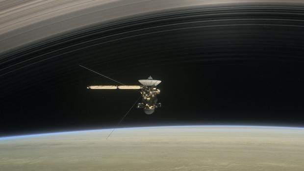 La misión de Cassini acabará este jueves, cuando la sonda se desintegrará en la atmósfera de SaturnoNASA