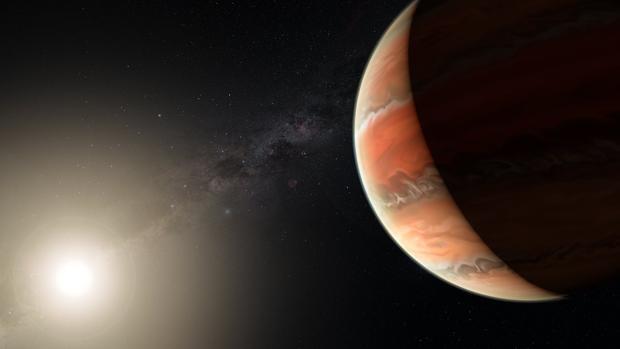 Los científicos han analizado la composición de su atmósfera y han detectado la presencia de óxido de titanio