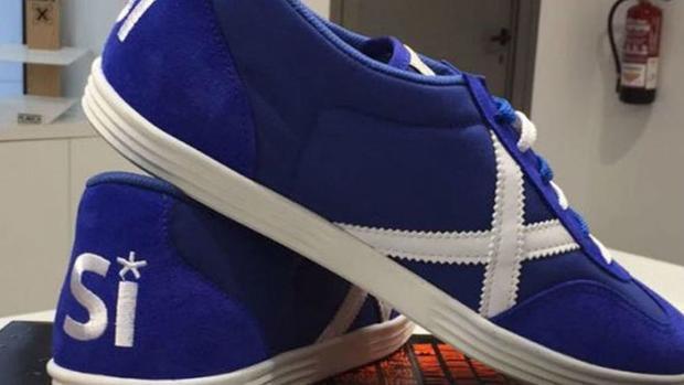 El PDeCat pone en aprietos a una marca de zapatillas por alinearla con el independentismo