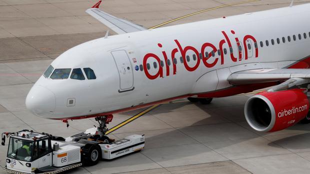 Air Berlin cancela 127 vuelos por una revuelta de los pilotos contra la dirección