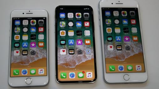 Los nuevos iPhone 8, iPhone X and iPhone 8S