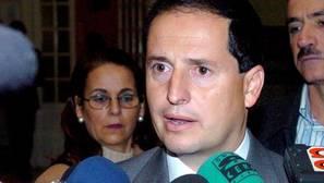 El concejal del Partido Andalucista en el Ayuntamiento de Marbella (Málaga) Carlos Fernández, en 2005