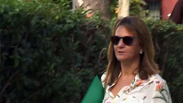 Lourdes Cavero, mujer del expresidente madrileño Ignacio González