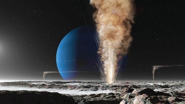 Tritón llegó al sistema de Neptuno y arrasó al resto de lunas
