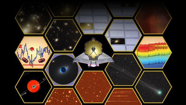 El telescopio espacial James Webb hará las primeras observaciones en 2019