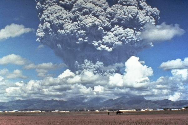 Erupción del Monte Pinatubo, en Filipinas, el 12 de junio de 1991
