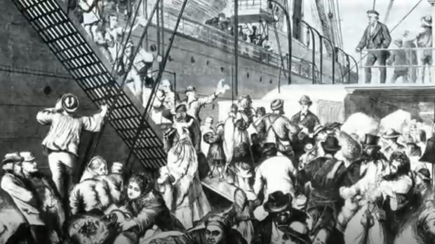 Cinco millones de alemanes emigraron al otro lado del Atlántico en el siglo XIX