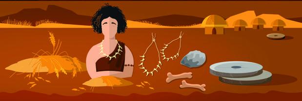 Moler el grano y otras tareas agrícolas pudieron ayudar a las mujeres del Neolítico a tener brazos de atleta