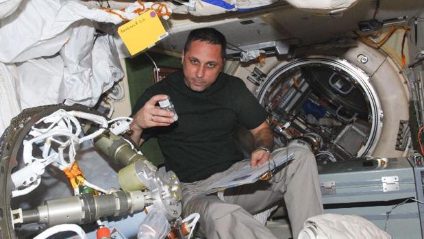 El cosmonauta Anton Shkaplerov