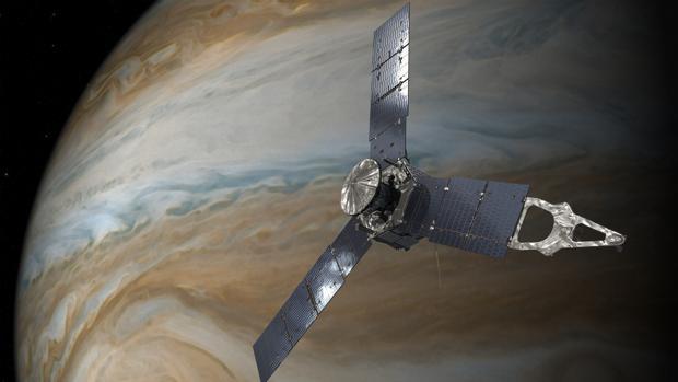Recreación de la sonda Juno