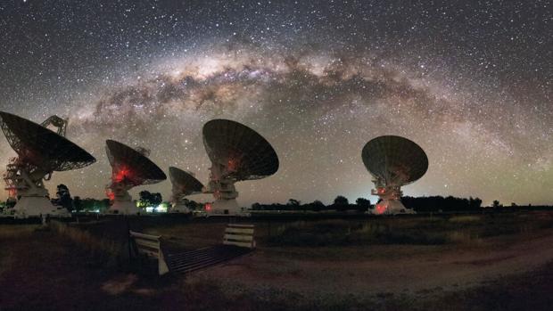 Observatorio de CSIRO (Australia) que ha observado la fusión de estrellas de neutrones GW170817