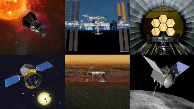 Algunas de las misiones que serán cruciales en 2018