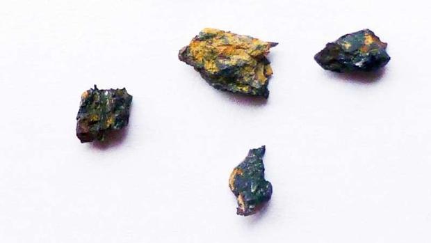Fragmentos de Hipatia, un meteorito único