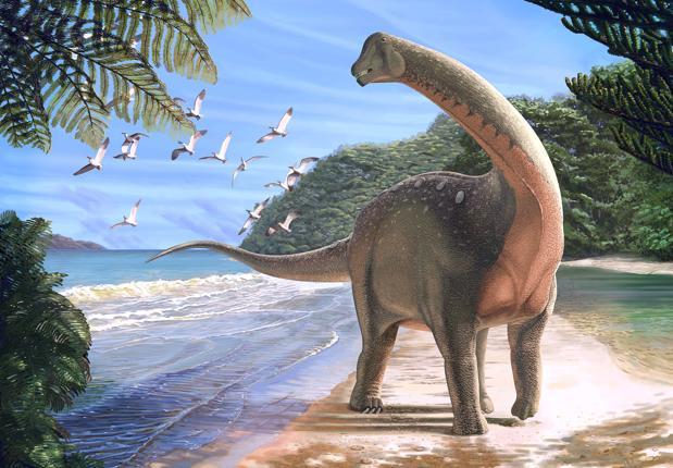 El dinosaurio Mansourasaurus shahinae