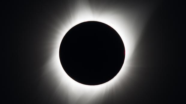 Un eclipse solar total