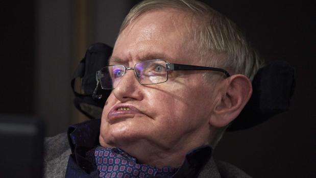 Fotografía de Stephen Hawking tomada el 19 de octubre de 2016