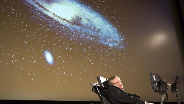 Fotografía de Stephen Hawking tomada en 2009 en la Universidad de Ginebra