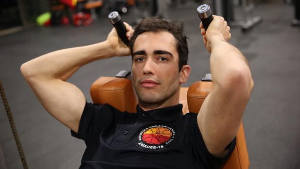 Guillermo Rojo, atleta de alto rendimiento de 400 metros y preparador físico de astronautas