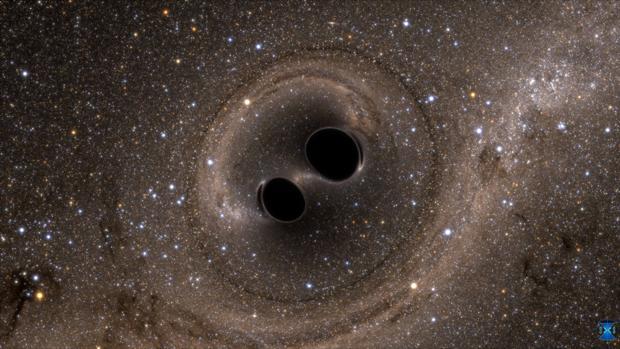 La colisión de agujeros negros ha ocurrido a unos 9.000 millones de años luz de la Tierra
