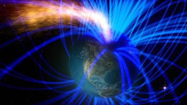 Algo extraño sucede con el campo magnético de la Tierra, y los científicos no saben qué es