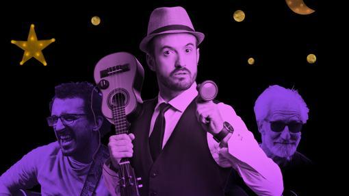 Álex O'Dogherty, junto con su banda La Bizarrería, actuará en el CAAC el viernes 18 de agosto