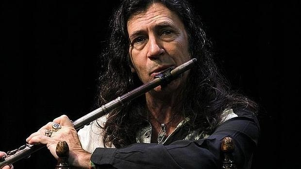 El saxofonista y flautista Jorge Pardo
