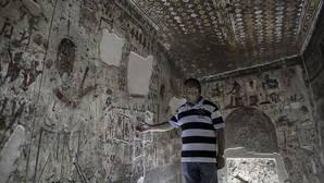 Abren al público por vez primera en el Valle de los Reyes de Luxor tres nuevas tumbas